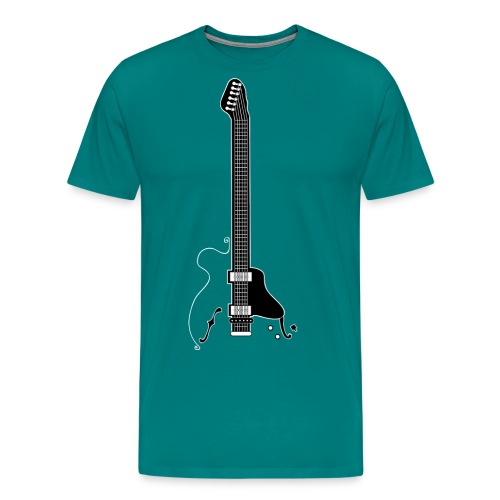 Electric Guitar - Men's Premium T-Shirt