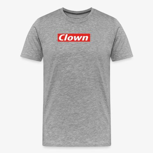 Clown box logo - Men's Premium T-Shirt