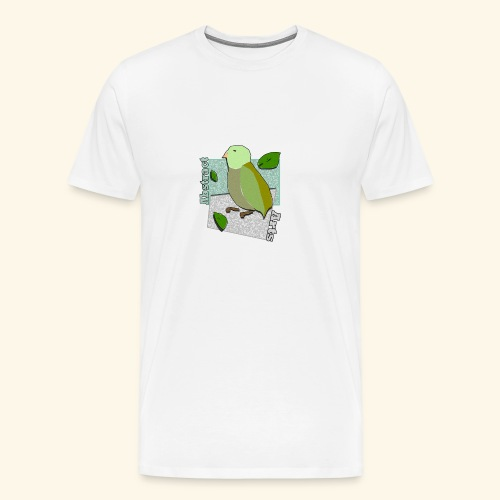 Little Bird Abstract Arts by Cc Arts Designs - Men's Premium T-Shirt