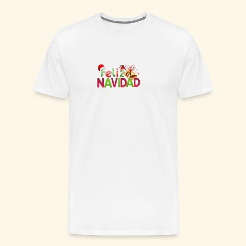 feliz navidad merch - Men's Premium T-Shirt