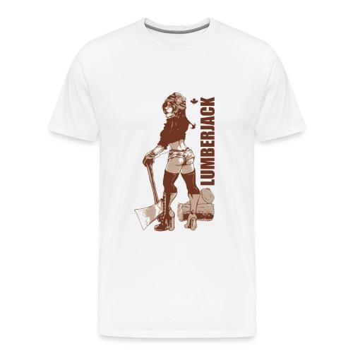 Lumberjack - Men's Premium T-Shirt