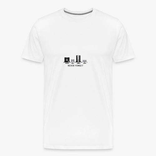Never forget - Men's Premium T-Shirt