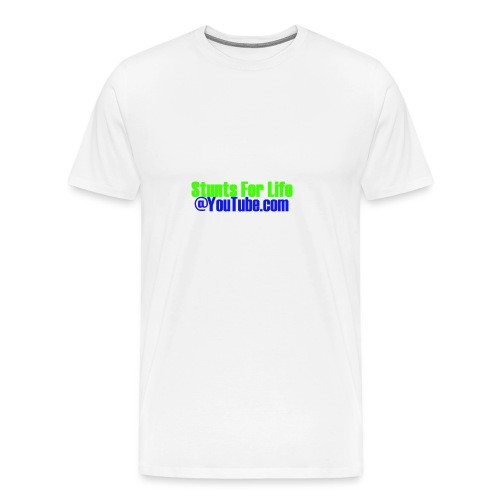 stunts for life - Men's Premium T-Shirt