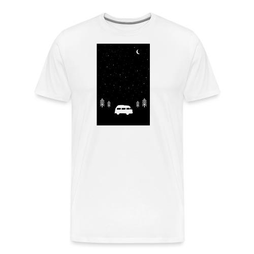 Van Life Through The Night // Augmented Reality AR - Men's Premium T-Shirt