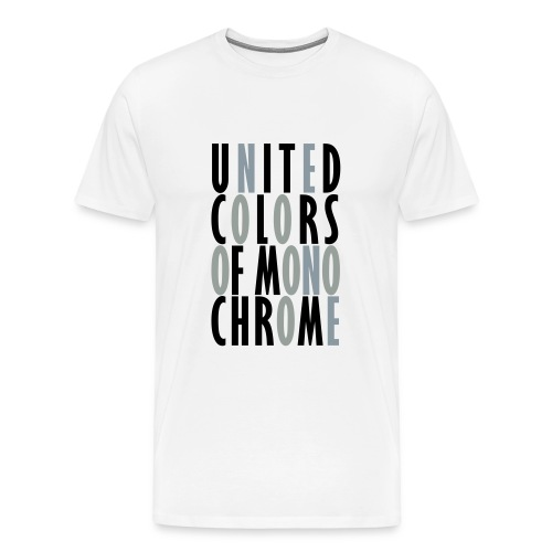 United Colors of Monochrome - Men's Premium T-Shirt