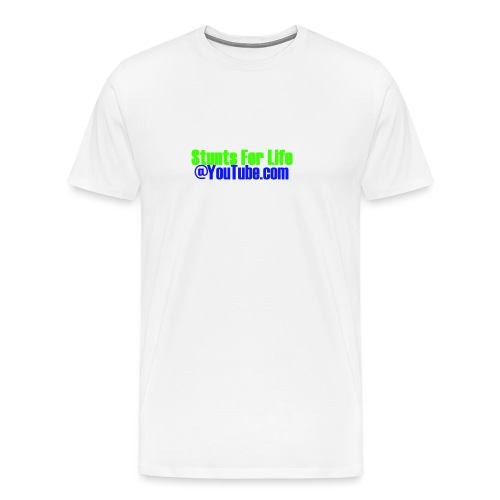 stunts for life - Men's Premium T-Shirt