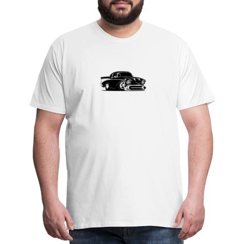 Classic American Hot Rod Car - Men's Premium T-Shirt