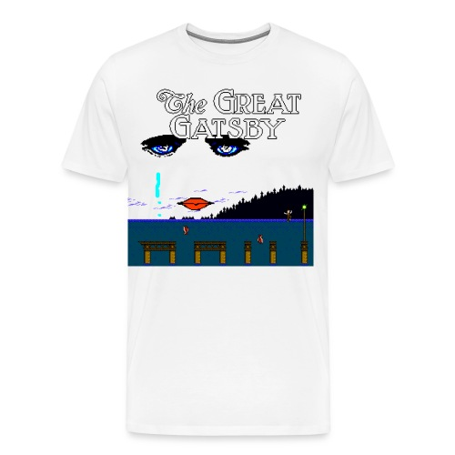 Great Gatsby Game Tri-blend Vintage Tee - Men's Premium T-Shirt