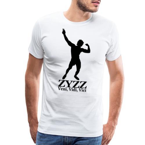 Zyzz Veni Vidi Vici - Men's Premium T-Shirt