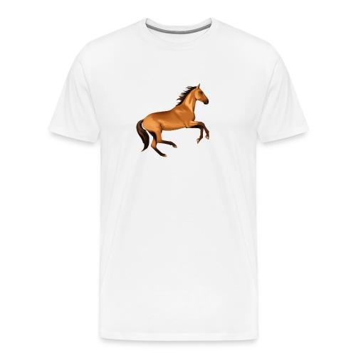 horse riding - Men's Premium T-Shirt