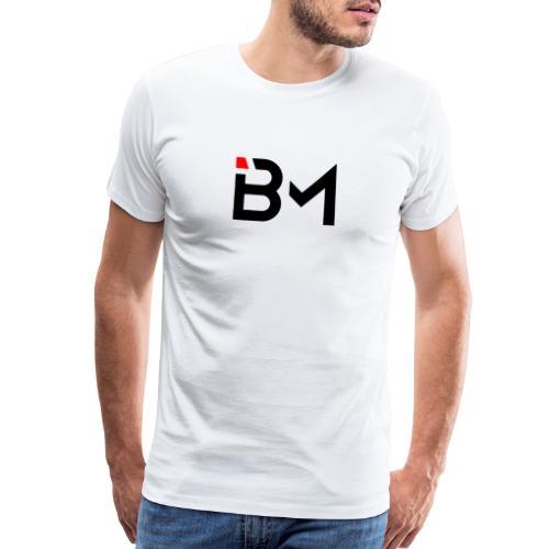 bench mob logo no lettering (black) - Men's Premium T-Shirt