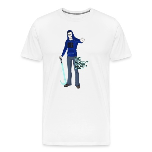 TheJumpingFox for Zoey png - Men's Premium T-Shirt