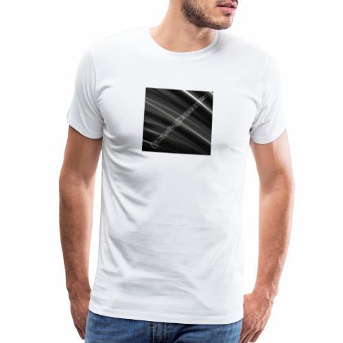 Clarinet · Black & White - Men's Premium T-Shirt