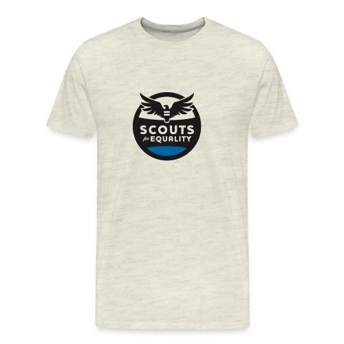 scoutsforequality bluelogo - Men's Premium T-Shirt