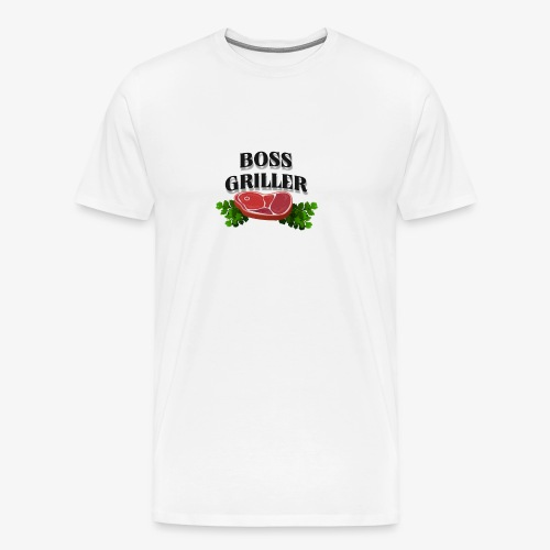 Boss Griller - Men's Premium T-Shirt