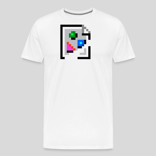 Broken Graphic / Missing image icon Mug - Men's Premium T-Shirt