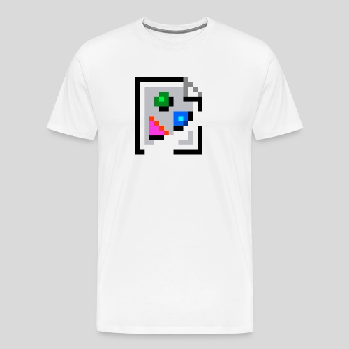 Broken Graphic / Missing image icon Mug - Men's Premium T-Shirt