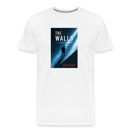 EBOOK the walls clar c design jpg - Men's Premium T-Shirt