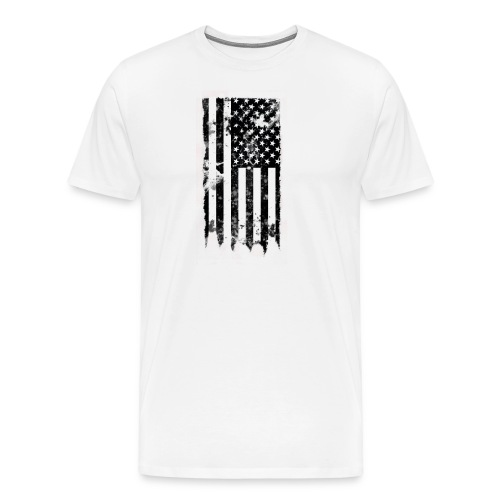 we the people no txt.png - Men's Premium T-Shirt