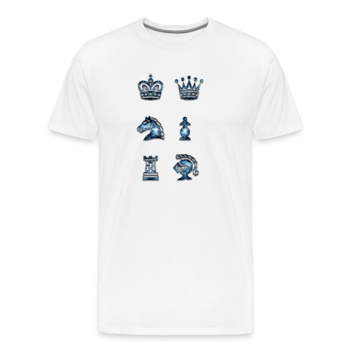 Jewelry Chess - Men's Premium T-Shirt