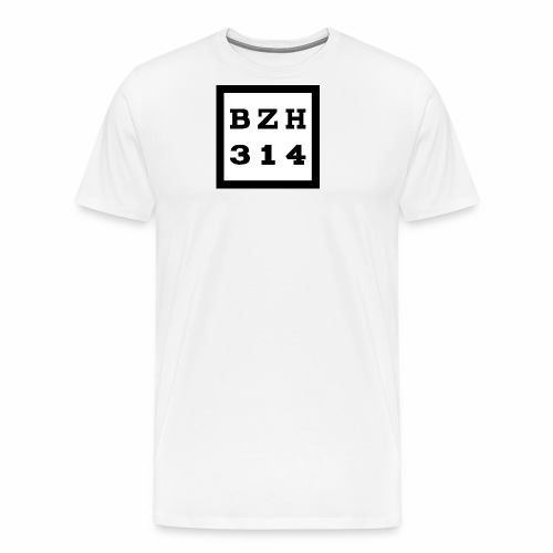 BZH314 Games Big Logo - Men's Premium T-Shirt