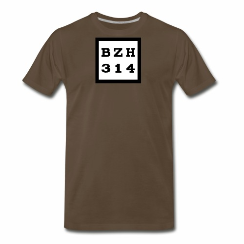 BZH314 Games Big Logo - Men's Premium T-Shirt