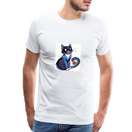 Nightwing is fruitcat - Men's Premium T-Shirt