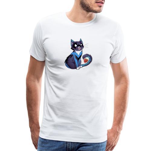 Nightwing is fruitcat - Men's Premium T-Shirt