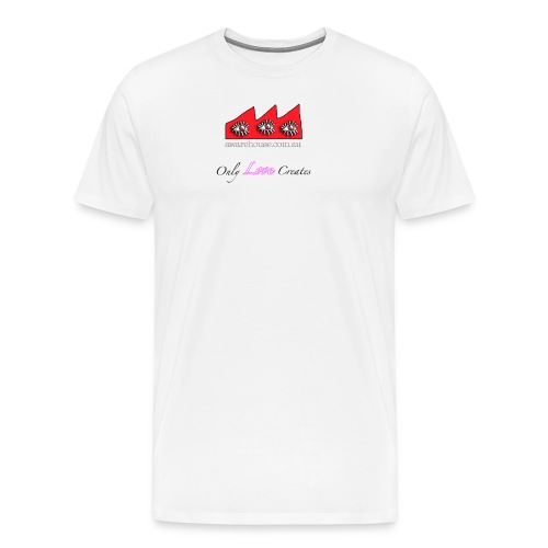 LoveCreates onWhite - Men's Premium T-Shirt