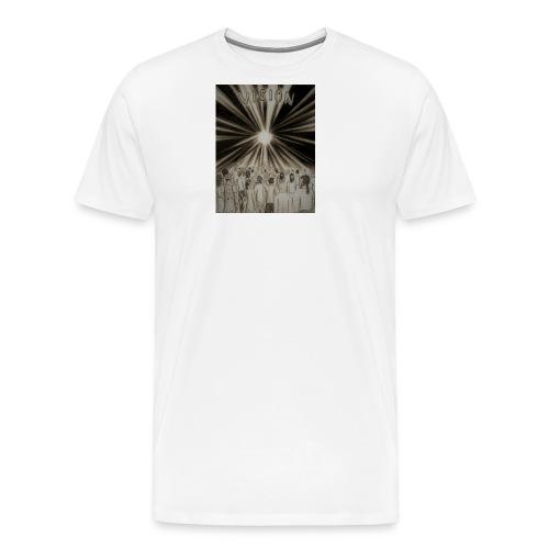 Black_and_White_Vision2 - Men's Premium T-Shirt