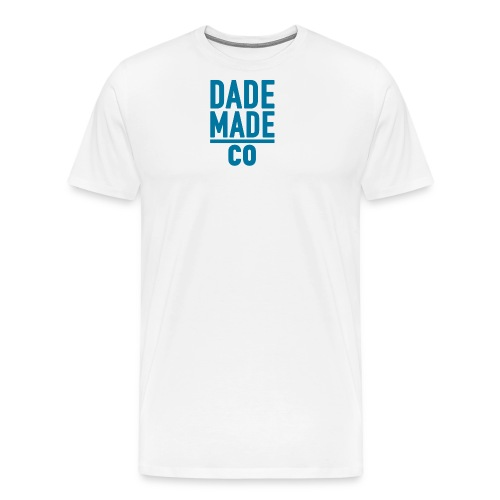 dademadelogoaqua - Men's Premium T-Shirt