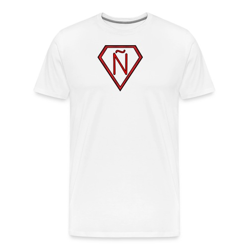 Ñ Red - Men's Premium T-Shirt
