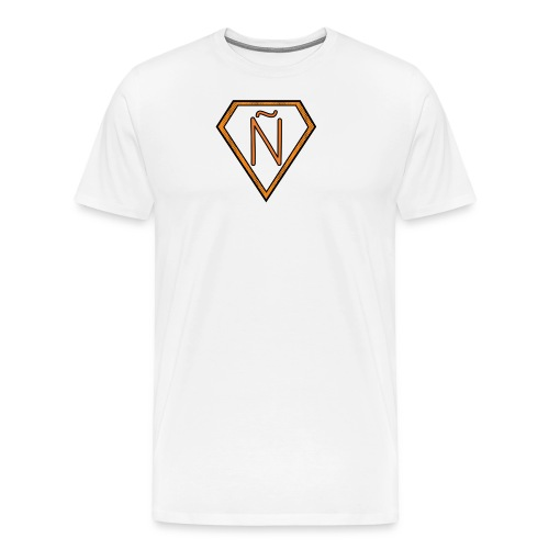 Ñ Orange - Men's Premium T-Shirt