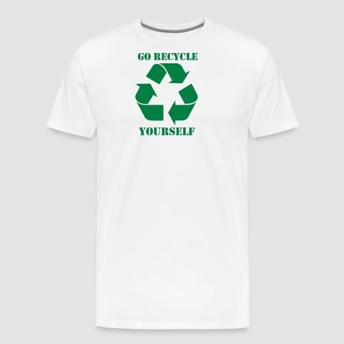 Go Recycle Yourself - Men's Premium T-Shirt