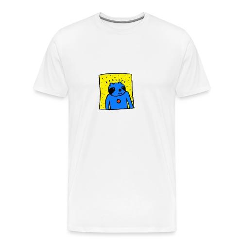 Sloth Portrait Tee - Men's Premium T-Shirt