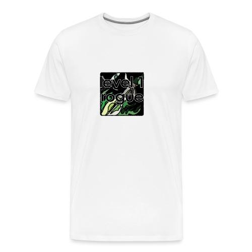 Warcraft Baby: Level 1 Rogue - Men's Premium T-Shirt