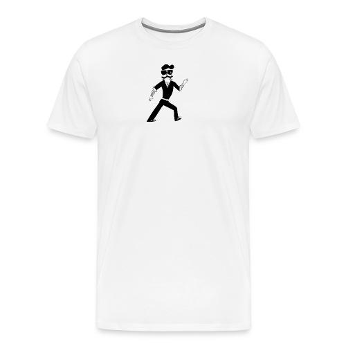 The Famous Mr Warrior - Men's Premium T-Shirt