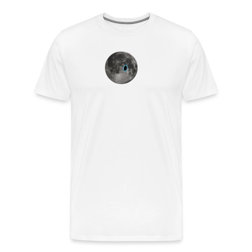 Portal on the Moon - Men's Premium T-Shirt