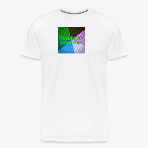 15550000333333333222222266666667777777222222221234 - Men's Premium T-Shirt