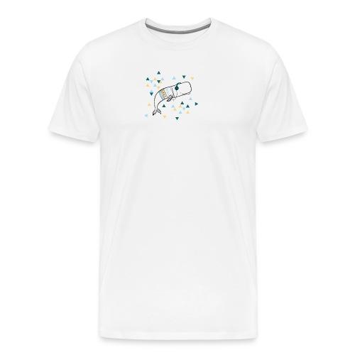 Music Whale - Men's Premium T-Shirt
