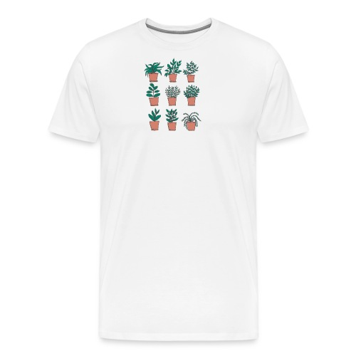 Flowerpots - Men's Premium T-Shirt
