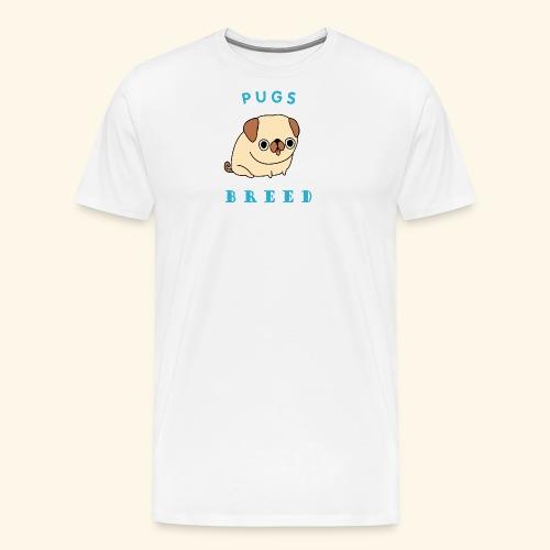 pug breed - Men's Premium T-Shirt