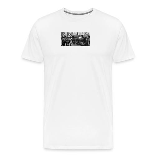 No Racist Cops - Men's Premium T-Shirt