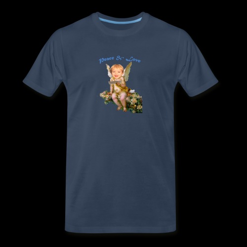 Peace and Love - Men's Premium T-Shirt