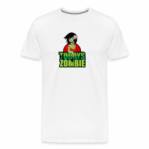 Sexy Zombie   Today's Zombie - Men's Premium T-Shirt