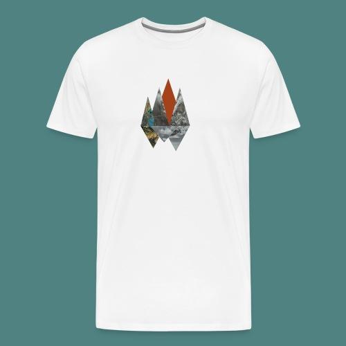 Peaks - Men's Premium T-Shirt