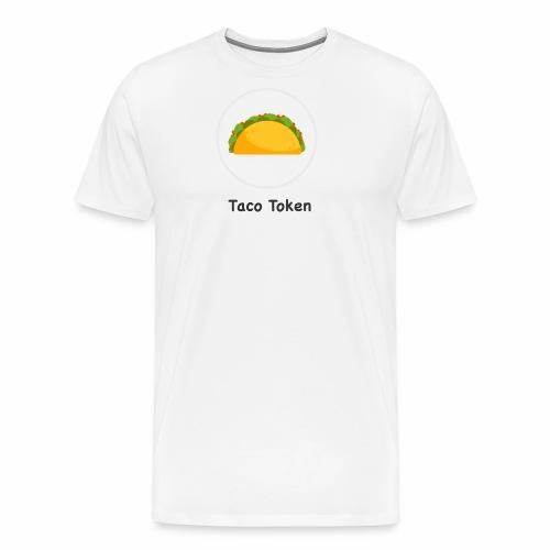 Taco White - Men's Premium T-Shirt