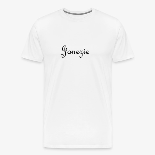 Jonezie Signature - T-Shirt - Men's Premium T-Shirt
