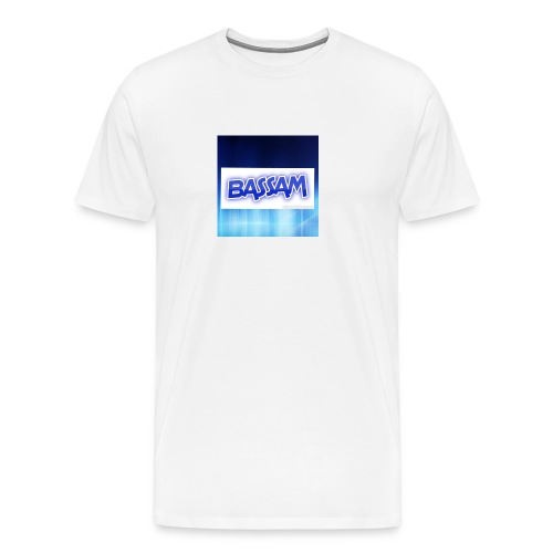 blue wallpaper 8 1 - Men's Premium T-Shirt