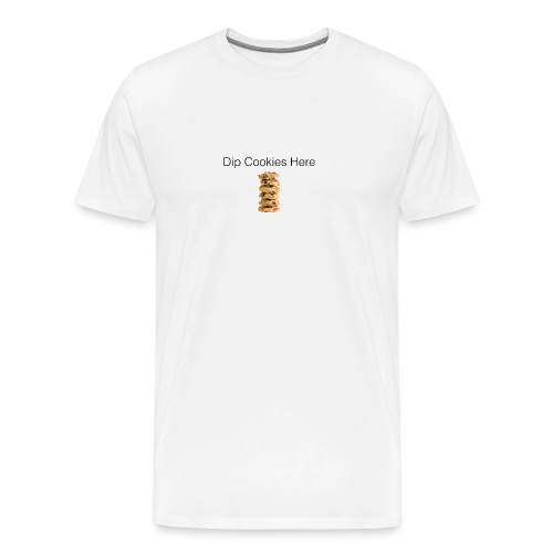 Dip Cookies Here mug - Men's Premium T-Shirt